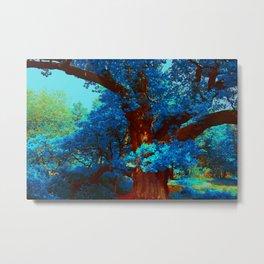 birnam wood in technicolor Metal Print