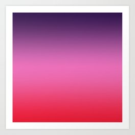 Carriacou - Classic Colorful Abstract Minimal Modern Summer Style Color Gradient Kunstdrucke