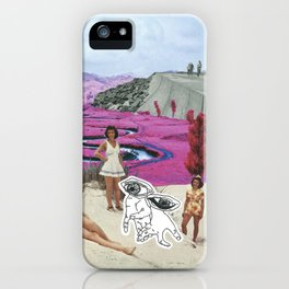 Look With Your Eyes, Not Your Hands iPhone Case