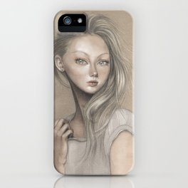 Nadia iPhone Case