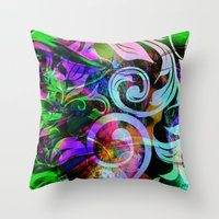 romance Throw Pillows featuring Romance by shiva camille