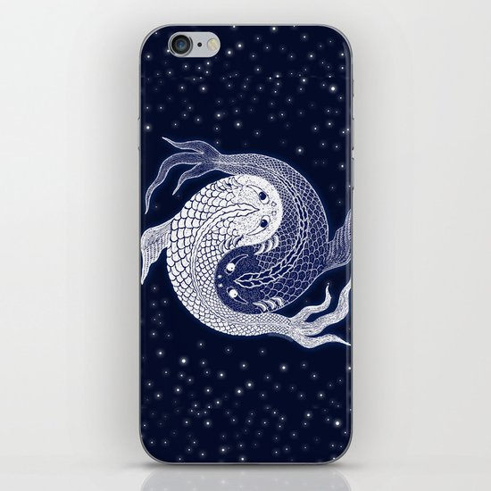 shuiwudao in space iPhone & iPod Skin