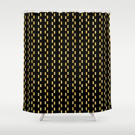 Dot MS DOS Blits Fallout 76 Shower Curtain