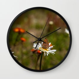 Sweet Butterfly Wall Clock