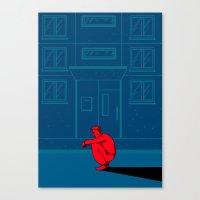 the neighbourhood Canvas Prints featuring Neighbourhood by NINETYONESIXTEEN