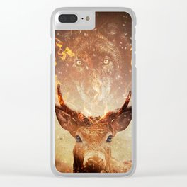 Internal flame Clear iPhone Case
