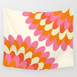 Dahlia at 60's Wall Tapestry