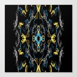 Abstract Silk Drawing Canvas Print