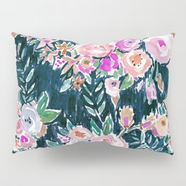 Midnight PROFUSION FLORAL Pillow Sham