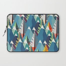 Mountains and Spruces Pattern Laptop Sleeve