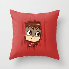 Heeeeere's..... the Villager! Throw Pillow