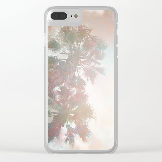 Tropical Day Dream Clear iPhone Case
