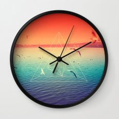 Lapse In Perception Wall Clock