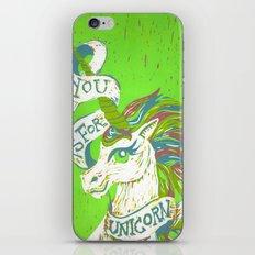 You is for Unicorn iPhone & iPod Skin