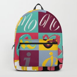 Type Fight Backpack