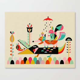 Wired Jungle Canvas Print