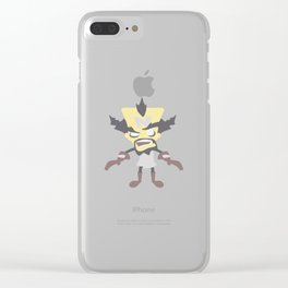 Dr Neo Cortex Clear iPhone Case