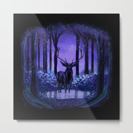 Elf Forest Metal Print