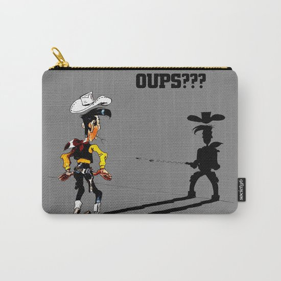Fast shadow - OUPS - grey version Carry-All Pouch