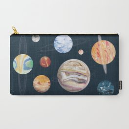 Marbly Warbly Planets Carry-All Pouch