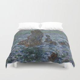 """Claude Monet """"Pyramides Port Coton"""" Duvet Cover"""