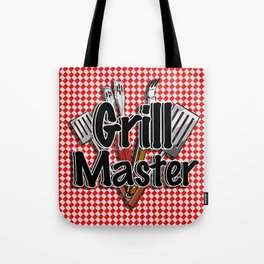Grill Master with BBQ Tools Tote Bag