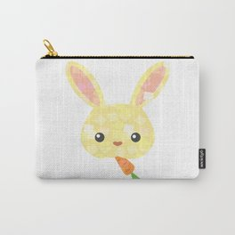cute yellow bunny Carry-All Pouch