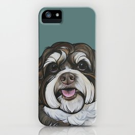 Wallace the Havanese iPhone Case