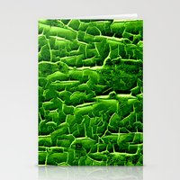 vegetable Stationery Cards featuring green vegetable by clemm