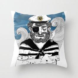 Capitão Throw Pillow