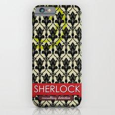 Sherlock Poster 1 iPhone 6s Slim Case