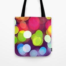 Light Dots Tote Bag