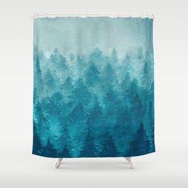 Misty Pine Forest 2 Shower Curtain