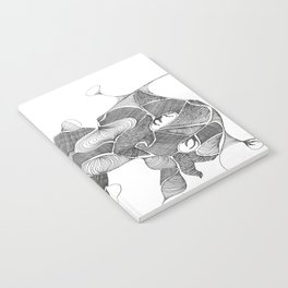 Hanging Flowers Notebook