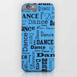 Just Dance - Blue iPhone Case