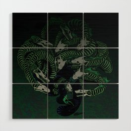 Lonely Hydra Wood Wall Art