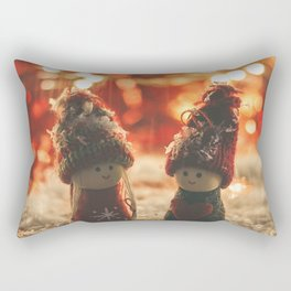 156 - Christmas memories Rectangular Pillow