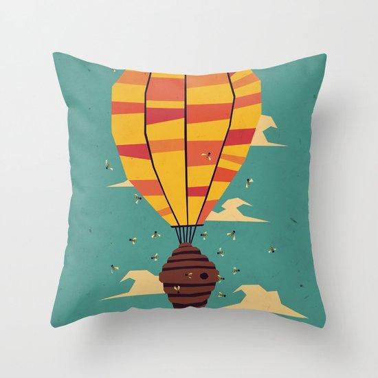 dangerous living Throw Pillow