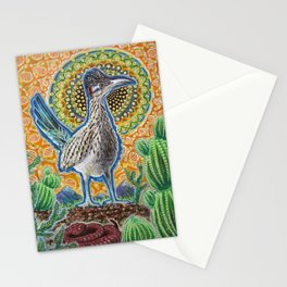 Attention (Roadrunner & Rattlesnake) Stationery Cards