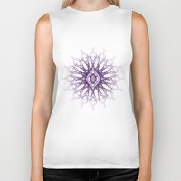sacred geometry Biker Tanks featuring Sacred Geometry  Mark Day  by MARK DAY