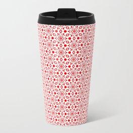 Snowflakes Travel Mug