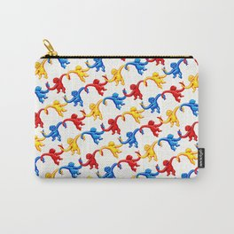 Monkey Toy Pattern Carry-All Pouch