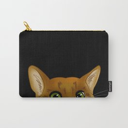 Peaking Cat Carry-All Pouch
