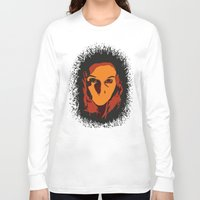 horror Long Sleeve T-shirts featuring Horror by Square Lemon