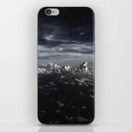 Clouds over the  Sea iPhone Skin