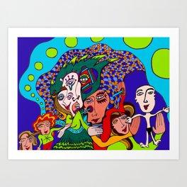 Baby is Born Art Print
