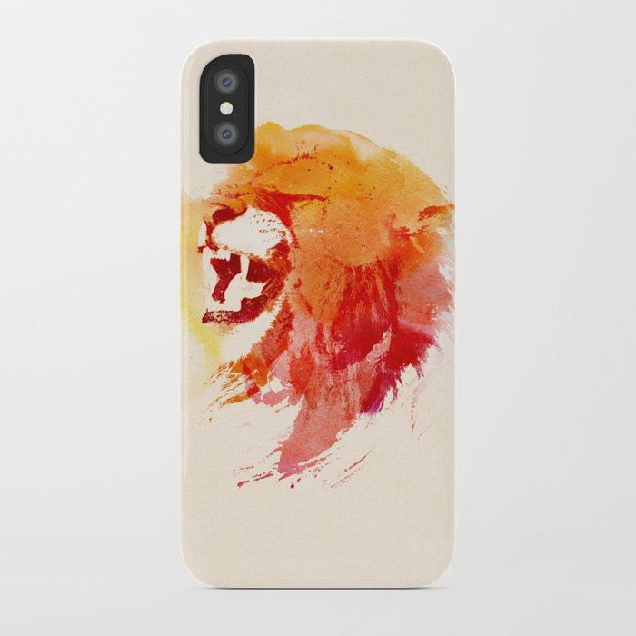 Angry Lion iPhone Case