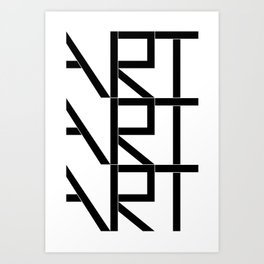 Art Art Art Art Print