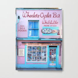 Wheelers Oyster Bar Metal Print