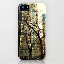Tree versus Scraper #3 iPhone Case